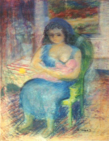 Adele Art » Frances Wood Gallery: Mothers and Children